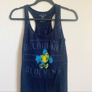 Tops - University of Delaware Racerback tank top - Small